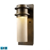 Freeport 1 Light Outdoor LED Wall Sconce In Hazelnut Bronze