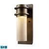 ELK lighting Freeport 1 Light Outdoor LED Wall Sconce In Hazelnut Bronze