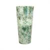 Pomeroy Pebble 17.8-Inch Vase, Seafoam Pebble Mosaic