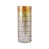 Capelo Vase Large, Amber Shimmer Mosaic
