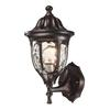 Glendale 1 Light Outdoor Wall Mount In Regal Bronze