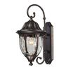 Glendale 1 Light Outdoor Wall Sconce In Regal Bronze
