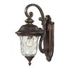 ELK lighting Lafayette 1 Light Outdoor Wall Sconce In Regal Bronze