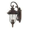 ELK lighting Lafayette 2 Light Outdoor Wall Sconce In Regal Bronze