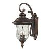 Lafayette 3 Light Outdoor Wall Sconce In Regal Bronze