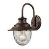 ELK lighting Searsport 1 Light Outdoor Wall Sconce In Regal Bronze