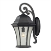 Wellington Park 1 Light Outdoor Wall Sconce In Weathered Charcoal