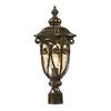 ELK lighting Logansport 1 Light Outdoor Post Lamp In Hazelnut Bronze