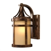 ELK lighting Winona 1 Light Outdoor Sconce In Hazelnut Bronze