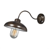 ELK lighting Barnside 1 Light Outdoor Sconce In Hazelnut Bronze