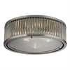 ELK lighting Linden Manor 3 Light Flushmount In Crystal And Brushed Nickel