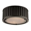 Linden Manor 2 Light Flushmount In Oil Rubbed Bronze