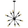 ELK lighting Delphine 12 Light Chandelier In Oil Rubbed Bronze