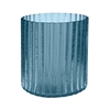 Lazy Susan Marine Fizz Fluted Votive - Sm