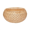 Large Natural Fish Scale Basket