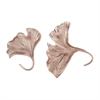 Rose Gold Ginkgo Wall Leaf