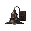 Marina 1 Light Outdoor Sconce In Hazelnut Bronze