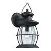 ELK lighting Village Lantern 1 Light Outdoor Sconce In Weathered Charcoal