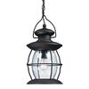 ELK lighting Village Lantern 1 Light Outdoor Pendant In Weathered Charcoal