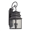 ELK lighting Forged Lancaster 2 Light Outdoor Sconce In Charcoal