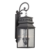 Forged Lancaster 3 Light Outdoor Sconce In Charcoal