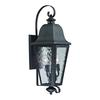 ELK lighting Forged Brookridge 3 Light Outdoor Sconce In Charcoal