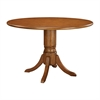 Amanda Dinette Table Set In Natural Stain Finish
