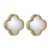 Sterling Set of 2 Quatrefoil Wall Mirrors