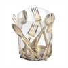 Sterling Utensil Holder