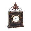Sterling Finial Clock  (1-Aa Battery -Not Included)
