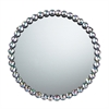 Sterling Jewel Edged Mirror