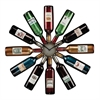 Sterling Wine Bottle Clock