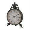 Arkle Reproduction Metal Desk Clock By