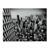 Manhattan-New York City Image Printed On Glass