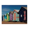 Beach Hut-Beach Hut Image Printed On Glass