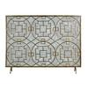 Sterling Geometric Fire screen