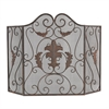 Sterling Iron Scroll Work Fire screen
