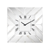La Jolla Wall Clock Mother Of Pearl,Clear Glass
