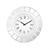 Bishopsgate Wall Clock Clear Mirror