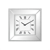 Sterling Falconbrook Wall Clock Clear Mirror,Crystals