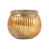 Pomeroy Sterlyn 2.8-Inch Medium Votive In Antique Gold Artifact, Antique Gold Artifact