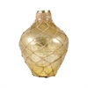 Pomeroy Galloway Bottle With Jute Small, Antique Light Olive Artifact