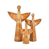 Pomeroy Choir Angels - Set of 3, Burned Copper