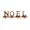 Noel Set of 4 Stocking Holders