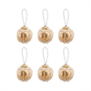 Beaded Ornaments Set - Optic Round