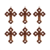 Cross Set of 6 Ornaments