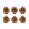 Medallion Set of 6 Ornaments