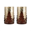 Tree Set of 2 Luminarias