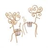 Gilded Set of 2 Reindeer