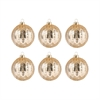 Round Optic Set of 6 Ornaments